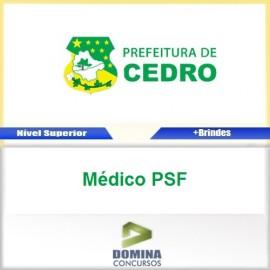 Apostila Concurso Cedro GO 2017 Médico PSF