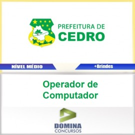 Apostila Cedro Go 2017 Operador de Computador