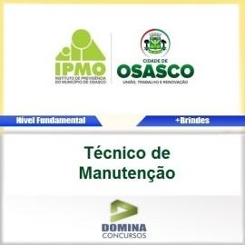 Apostila IPMO Osasco SP 2017 Técnico de Manutenção