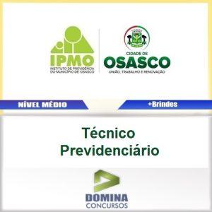 Apostila IPMO Osasco SP 2017 Técnico Previdenciário