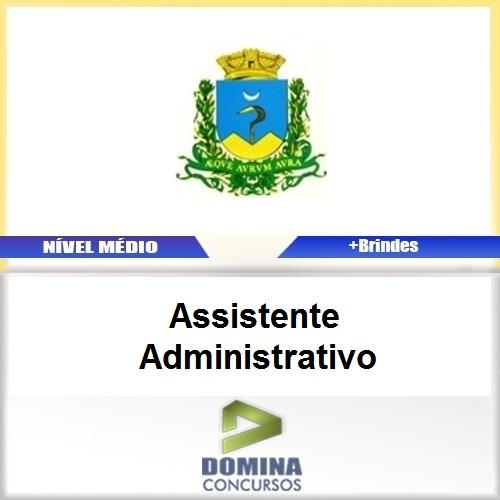 Apostila Caconde SP 2017 Assistente Administrativo
