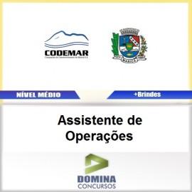 Apostila CODEMAR RJ 2017 Assistente de Operações