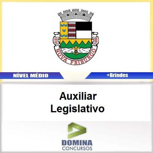 Apostila Nova Fraiburgo RJ 2017 Auxiliar Legislativo