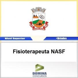 Apostila Canelinha SC 2017 Fisioterapeuta NASF