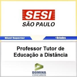 Apostila SESI SP 2017 PROF Tutor de EDU a Distância