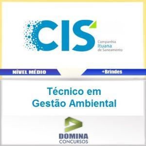 Apostila CIS 2017 Técnico em Gestão Ambiental PDF