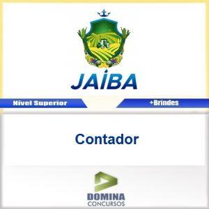 Apostila Concurso Jaíba MG 2017 Contador