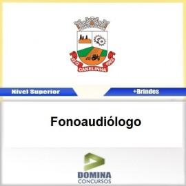 Apostila Concurso Canelinha SC 2017 Fonoaudiólogo