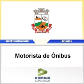 Apostila Canelinha SC 2017 Motorista de Ônibus