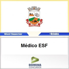 Apostila Concurso Canelinha SC 2017 Médico ESF