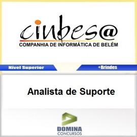 Apostila Concurso CINBESA 2017 Analista de Suporte
