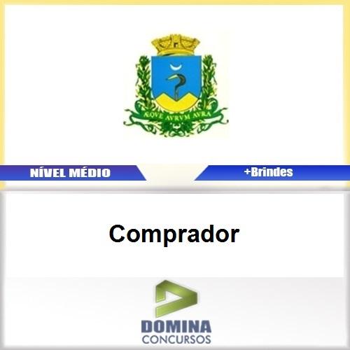 Apostila Concurso Caconde SP 2017 Comprador