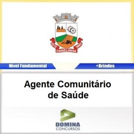 Apostila Canelinha SC 2017 AGT Comunitário de Saúde