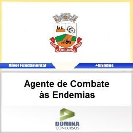 Apostila Canelinha SC 2017 AGT Combate às Endemias