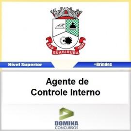 Apostila Guabiruba SC 2017 Agente de Controle Interno