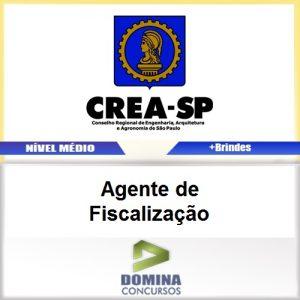 Apostila Concurso CREA SP 2017 Agente de Fiscalização