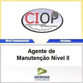 Apostila CIOP 2017 Agente de Manutenção Nível II