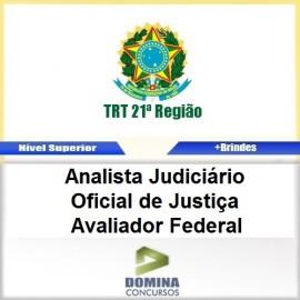 Apostila TRT 12 SC 2017 Oficial Justiça Avaliador Federal
