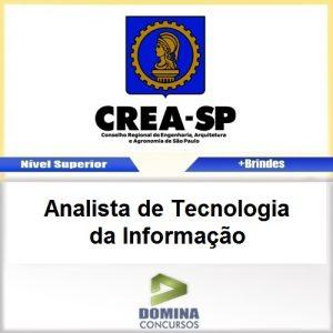 Apostila CREA SP 2017 Analista Tecnologia Informação