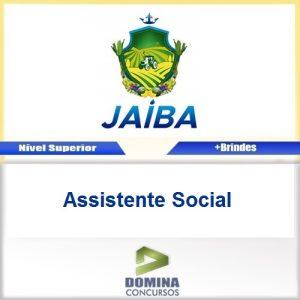 Apostila Concurso Jaíba MG 2017 Assistente Social