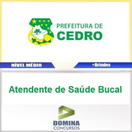Apostila Cedro Go 2017 Atendente de Saúde Bucal