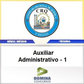 Apostila CRQ V 2017 Auxiliar Administrativo 1