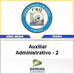 Apostila CRQ V 2017 Auxiliar Administrativo 2