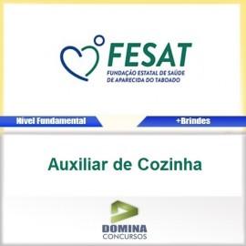 Apostila FESAT MS 2017 Auxiliar de Cozinha PDF