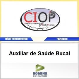 Apostila CIOP 2017 Auxiliar de Saúde Bucal