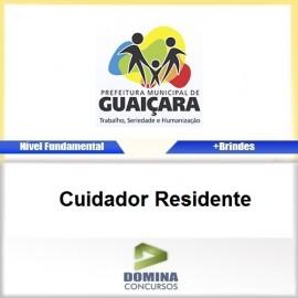 Apostila Guaiçara SP 2017 Cuidador Residente