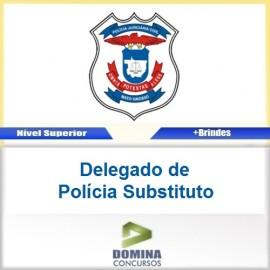 Apostila PJC MT 2017 Delegado de Polícia Substituto PDF
