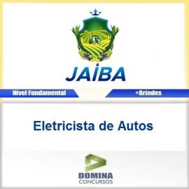 Apostila Concurso Jaíba MG 2017 Eletricista de Autos