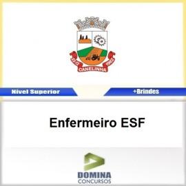 Apostila Concurso Canelinha SC 2017 Enfermeiro ESF