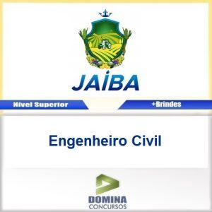 Apostila Jaíba MG 2017 Engenheiro Civil Download