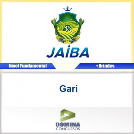 Apostila Concurso Jaíba MG 2017 Gari Download