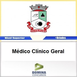 Apostila Guabiruba SC 2017 Médico Clínico Geral