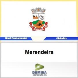 Apostila Concurso Canelinha SC 2017 Merendeira
