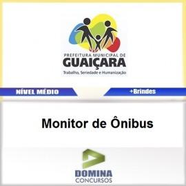 Apostila Guaiçara SP 2017 Monitor de Ônibus