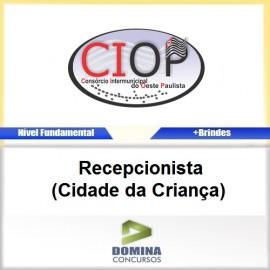 Apostila CIOP 2017 Recepcionista Cidade da Criança