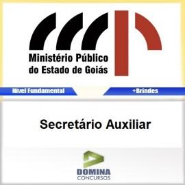 Apostila MP GO 2017 Secretário Auxiliar Download PDF