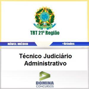 Apostila TRT 12 SC 2017 Técnico Judiciário Administrativa