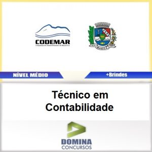 Apostila CODEMAR RJ 2017 Técnico em Contabilidade