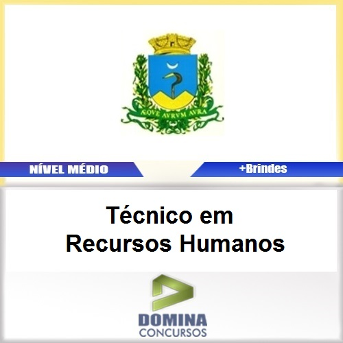 Apostila Caconde SP 2017 Técnico Recursos Humanos