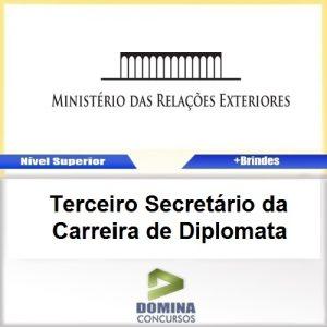 Apostila MRE 2017 Terceiro Secretário Carreira Diplomata