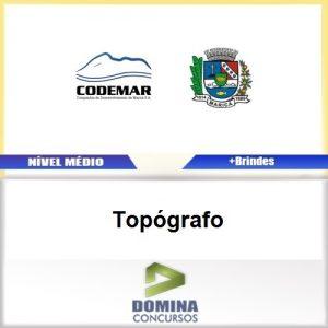 Apostila Concurso CODEMAR RJ 2017 Topógrafo