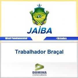 Apostila Concurso Jaíba MG 2017 Trabalhador Braçal