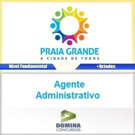 Apostila Praia Grande SP 2017 Agente Administrativo