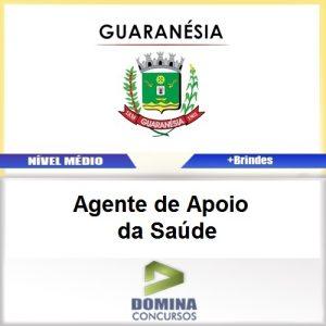 Apostila Guaranésia MG 2017 Agente de Apoio da Saúde
