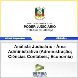 Apostila TJ RS 2017 Analista Judiciário Administrativa