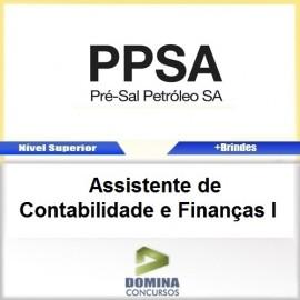 Apostila Pré Sal PPSA 2017 ASS Contabilidade Finanças I